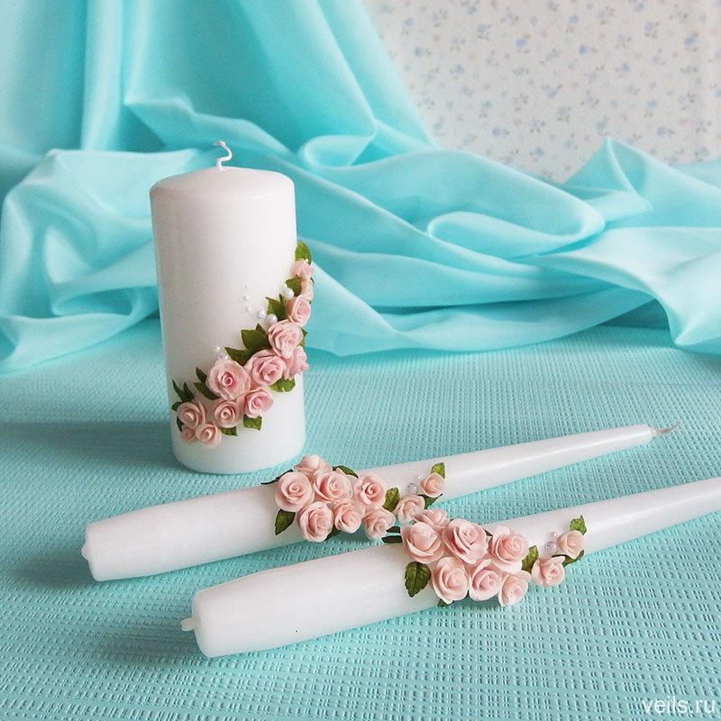 Домашний очаг Согласие, набор из 3-х свечей