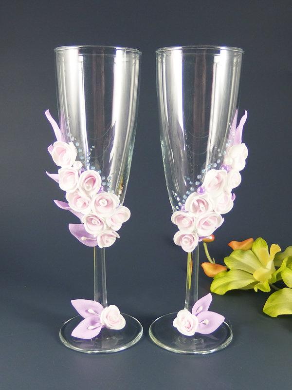 Свадебные бокалы deco-038, Мечта