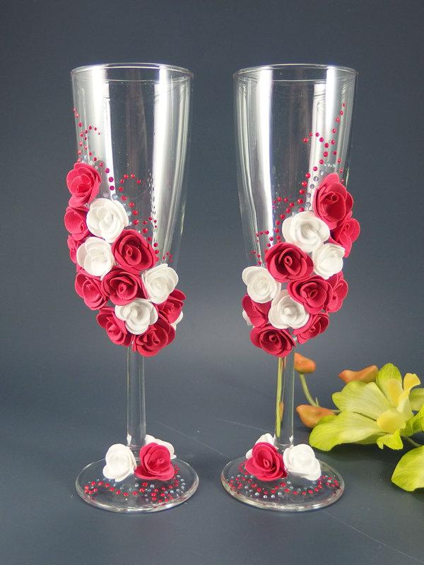 Свадебные бокалы deco-037, Фантазия