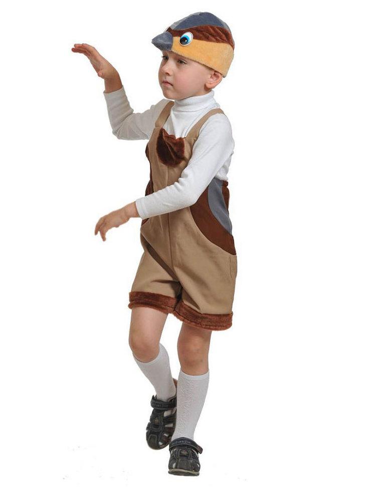 Как сшить костюм воробья для мальчиков