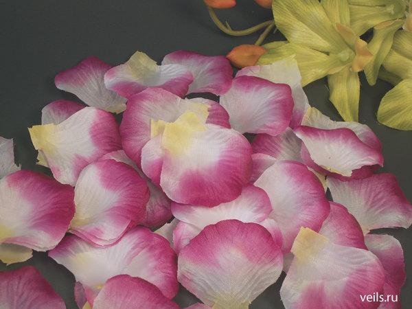 Лепестки на свадьбу, 3-х цветные