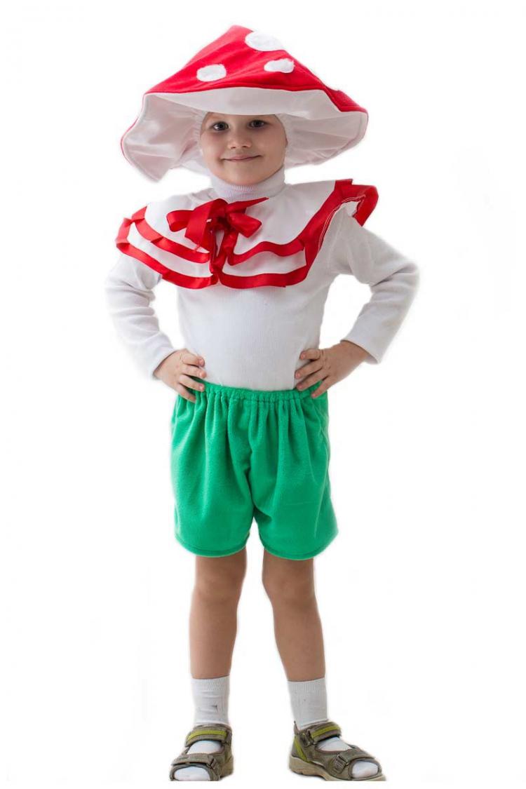 Костюм грибочка для девочки своими руками фото