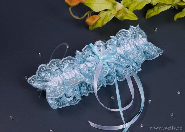 Свадебная подвязка невесты 013