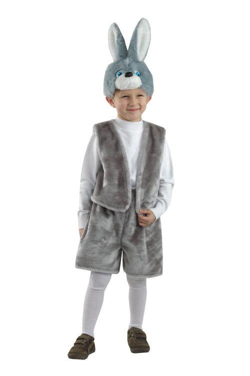 Карнавальные костюмы детские зайчик