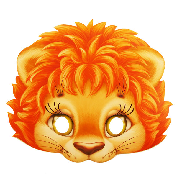 Маски льва своими руками