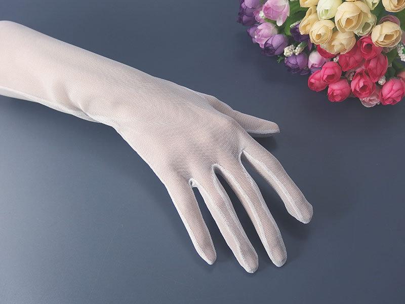 Белые печатки сеточка 40см