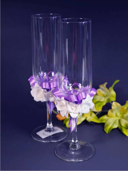 Свадебные бокалы deco-701, Sw-Азалия