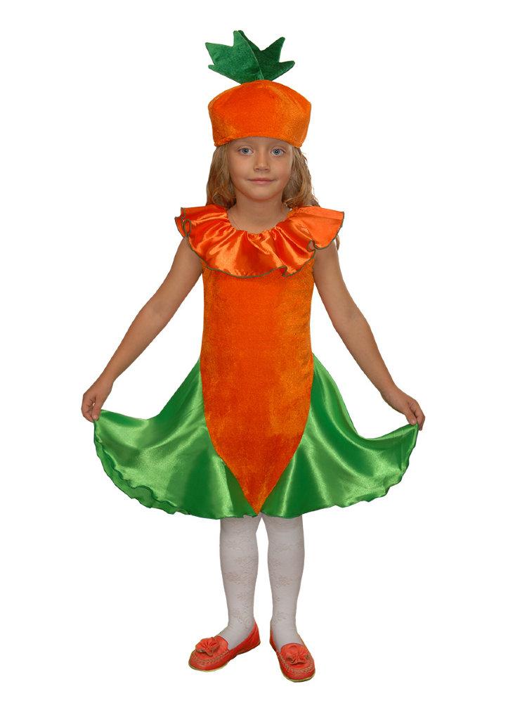 Костюмы морковки своими руками