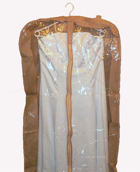 ЧБ-03 Чехол комби для свадебного платья