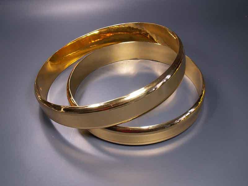 Кольца для изготовления украшений на свадебное авто
