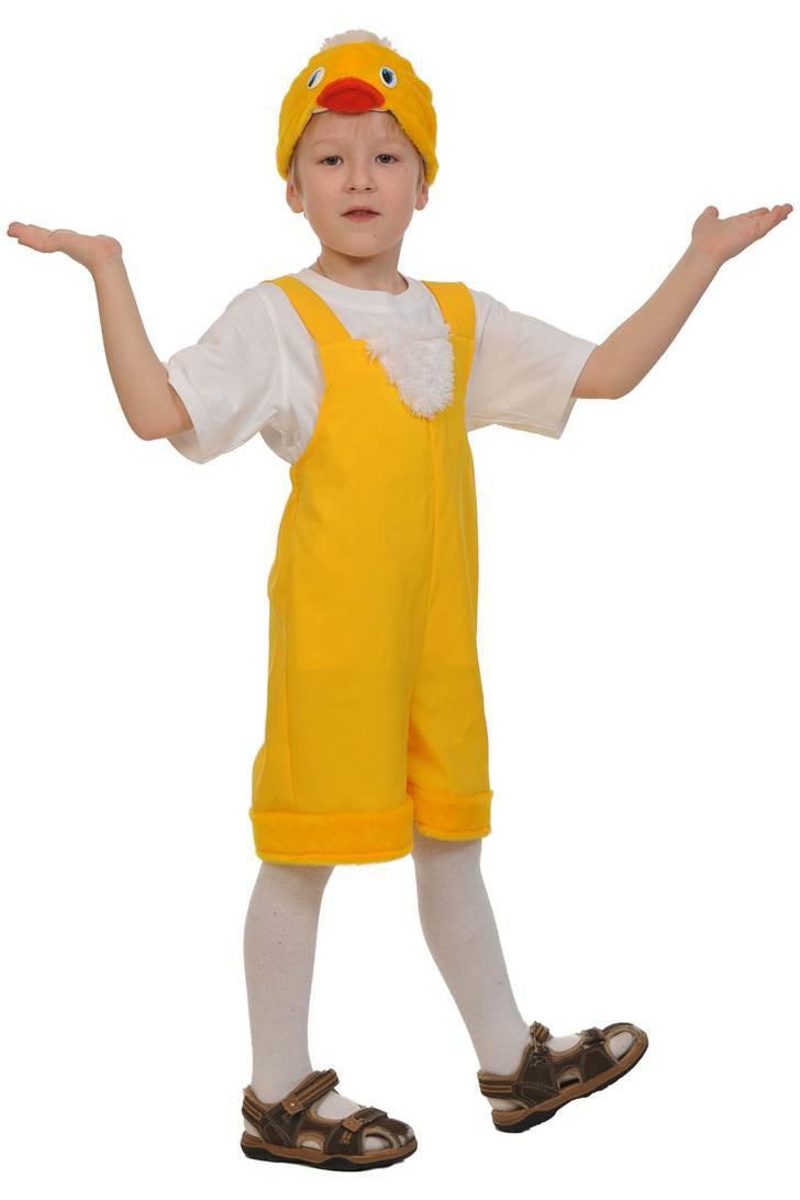 Костюм цыпленок для мальчика своими руками