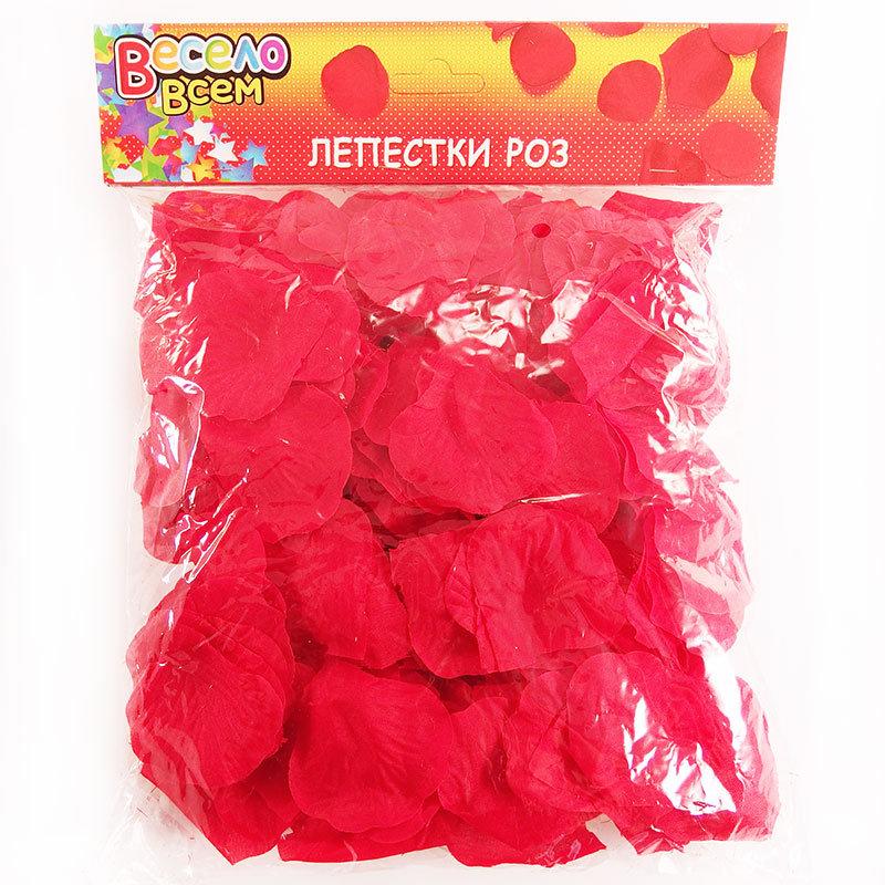 Лепестки красные для осыпания молодых RP-001