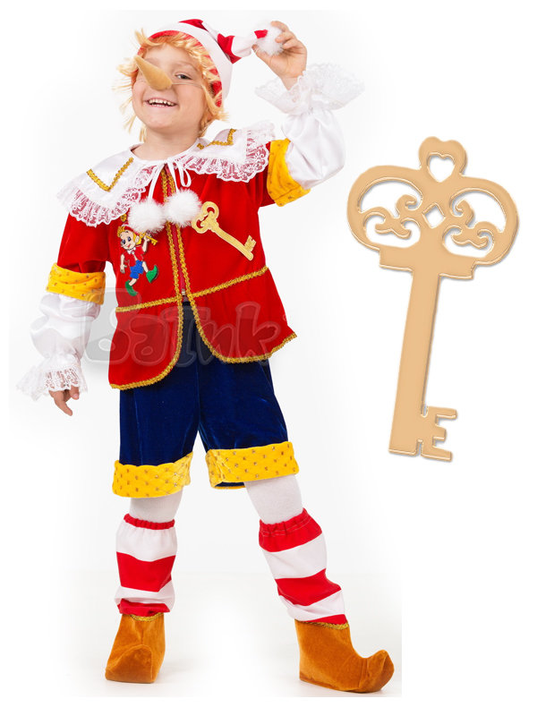 Карнавальный костюм своими руками буратино