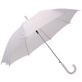 Свадебный зонт белый 06