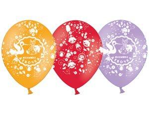 Набор из 10 шаров 35см - малышка Девочка, 1103-1013