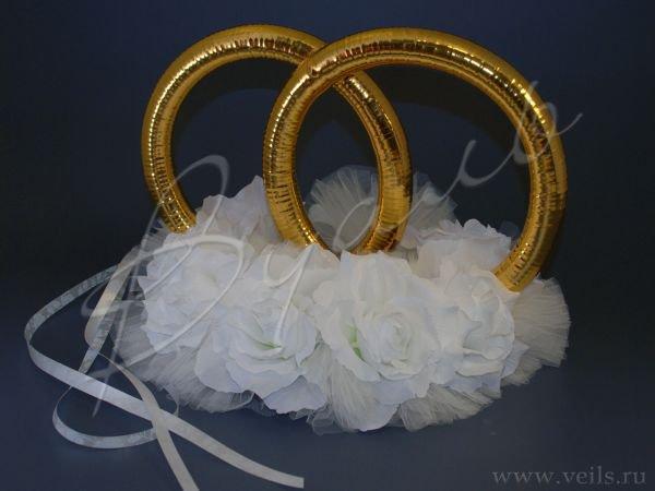 Кольца для свадебного кортежа 001