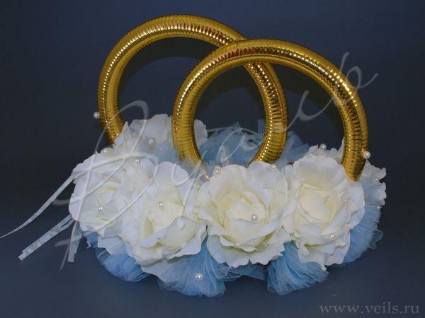 Кольца для свадебного кортежа 002
