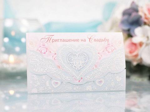 Приглашение в свадьбу 08.066