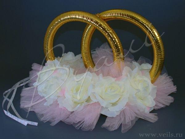 Кольца для свадебного кортежа 004