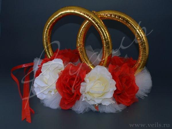 Кольца для свадебного кортежа 006