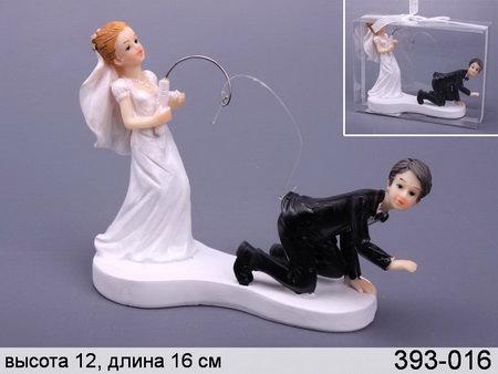 """Фигурка """"Свадебная пара"""", 393016"""