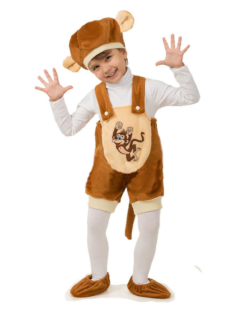 Костюм обезьянки для мальчика своими руками фото