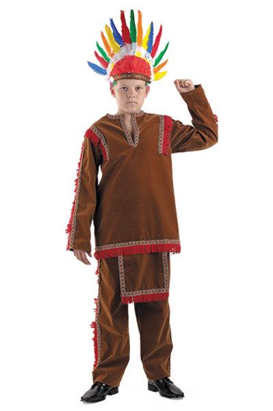 Как сделать костюм индейца для мальчика