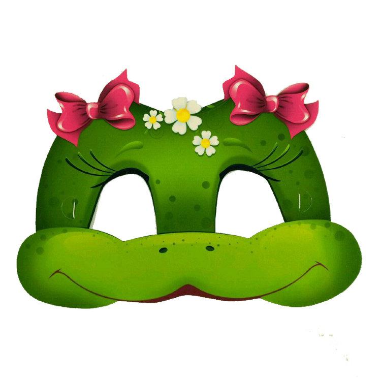Как сделать маску лягушки своими руками