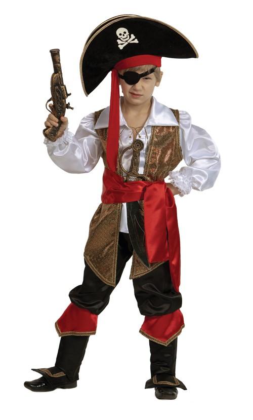 Новогодние костюмы пирата для детей