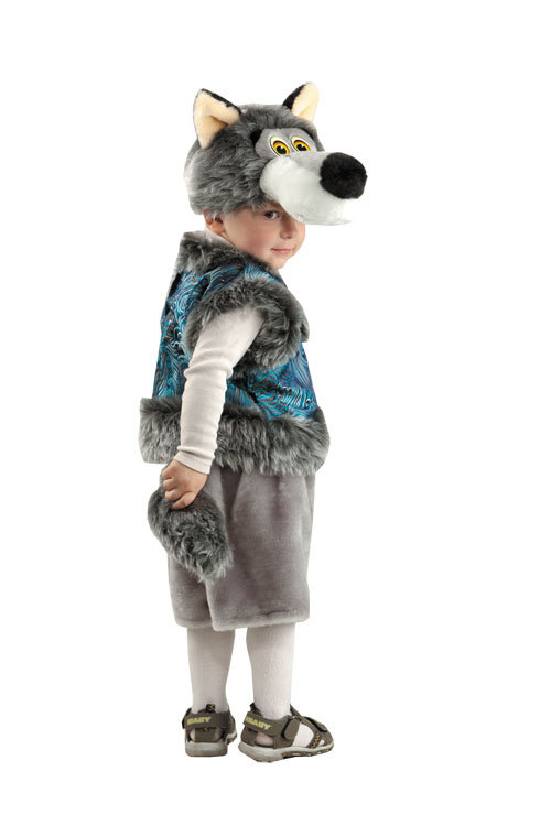 Костюм серый волк своими руками