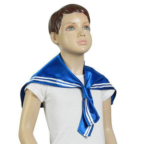 Морской воротник гюйс из атласа - купить в интернет-магазине Вуаль ... f162ce71466
