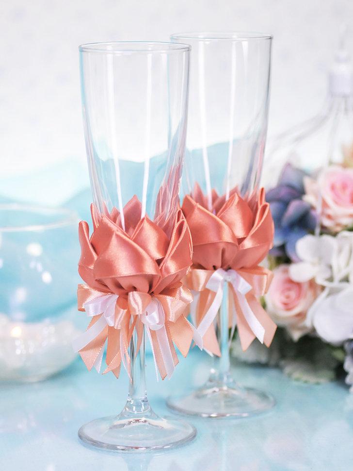 бокалы для шампанского свадебные фото чего наши