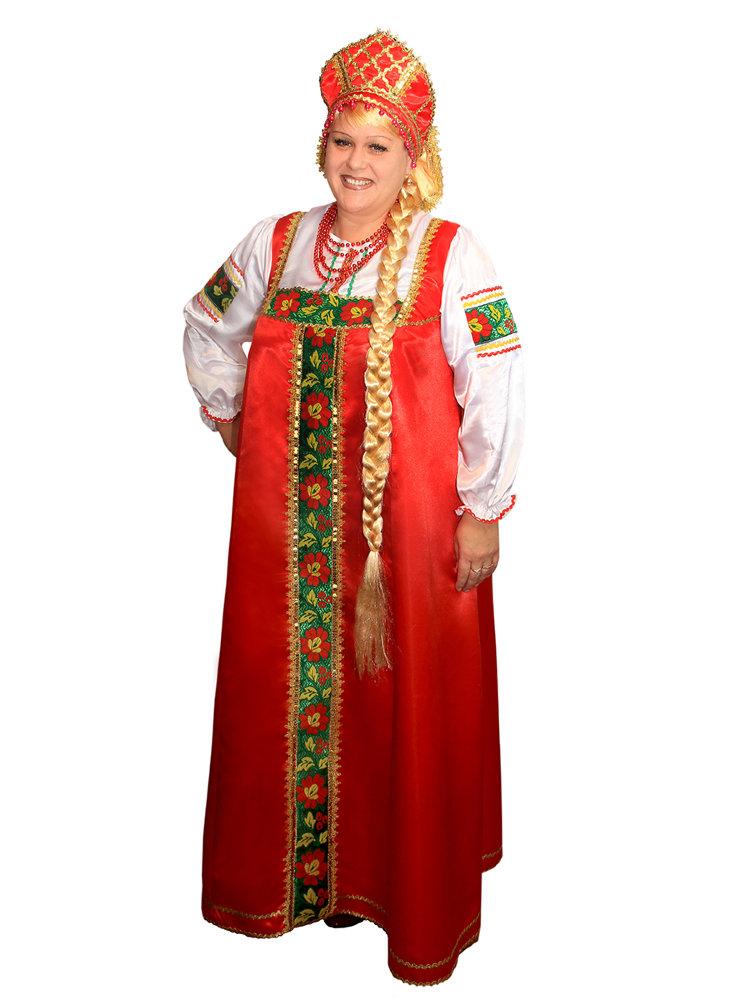 женский национальный костюм картинки