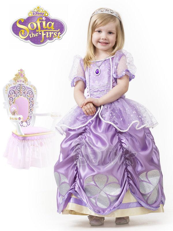 Платье для девочки софия прекрасная